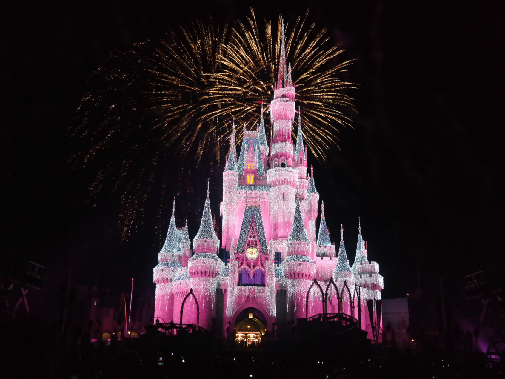 Disney world in 2 days