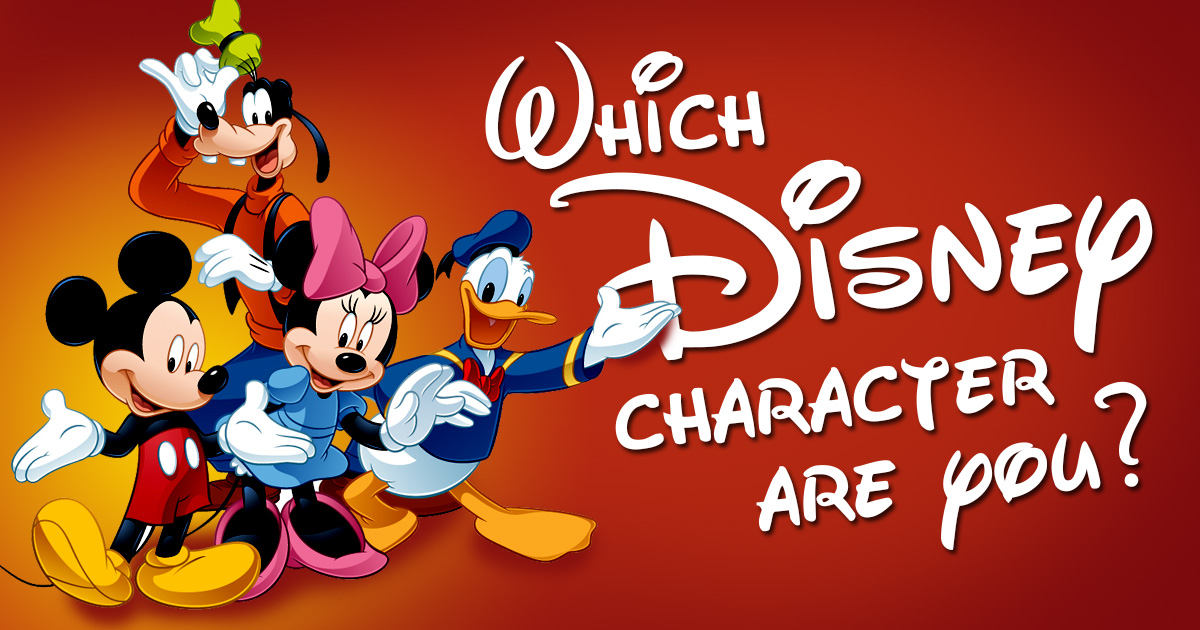 Which disney character are you featured large