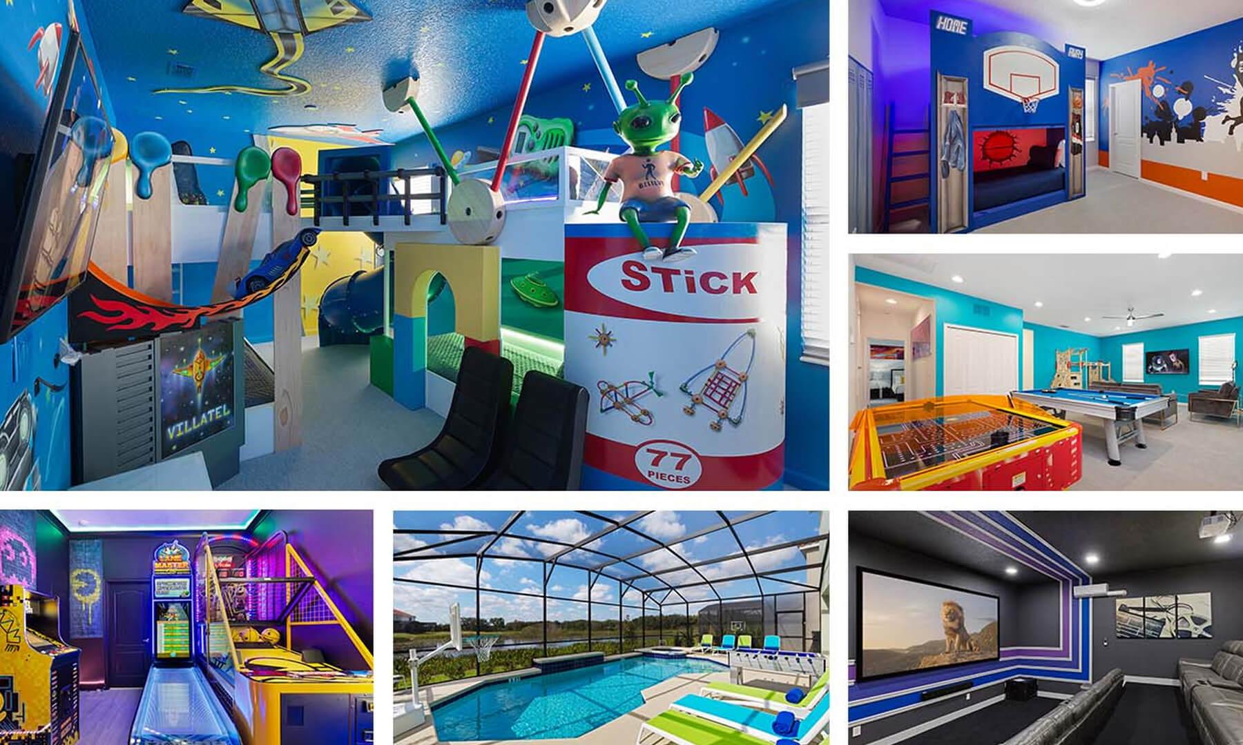orlando vacation rentals with pool