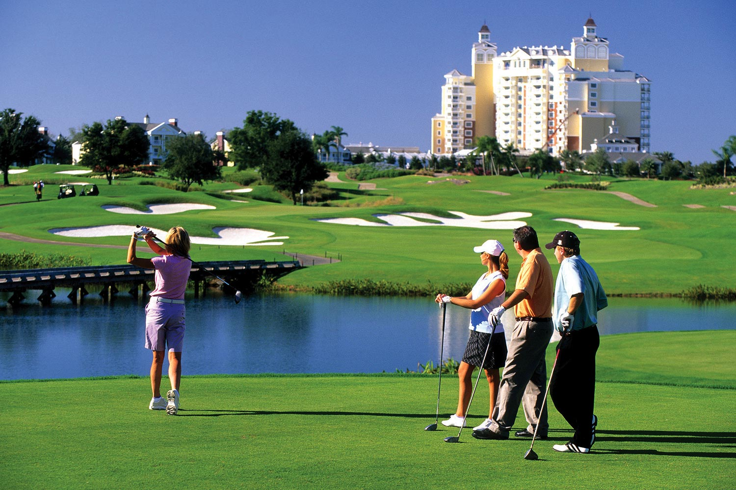 What Are Some Great Luxury Rental Communities In Orlando For Golfers?