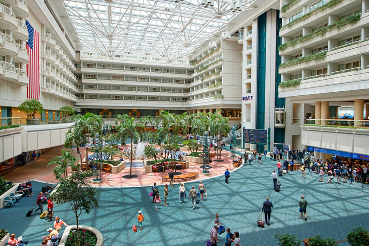 Orlando International Airport Arrivals