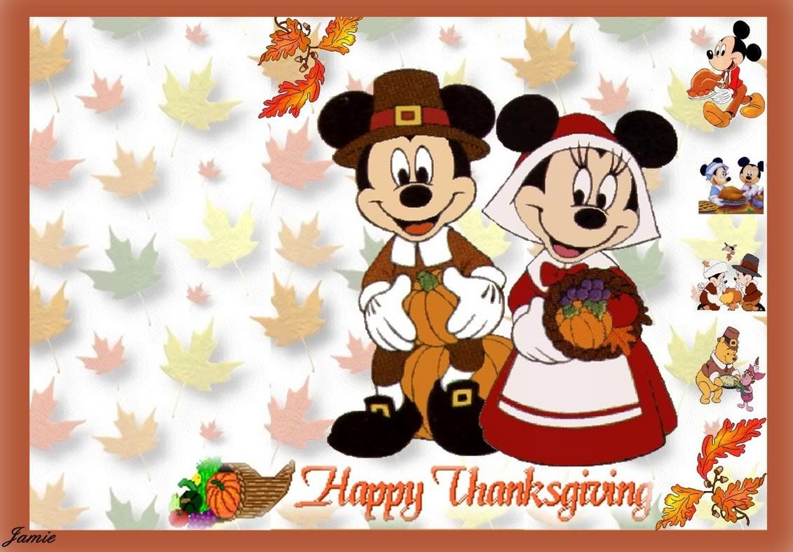Happy thanksgiving disney