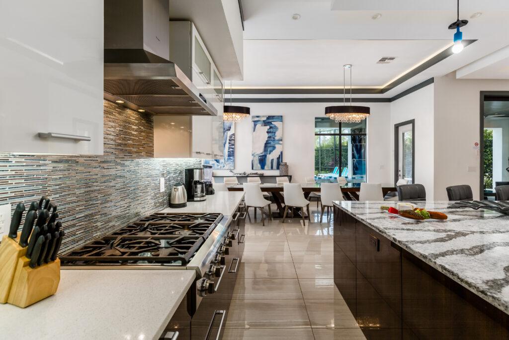 luxury villa Spacious Kitchen