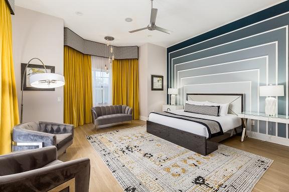 Luxurious villa Bedrooms