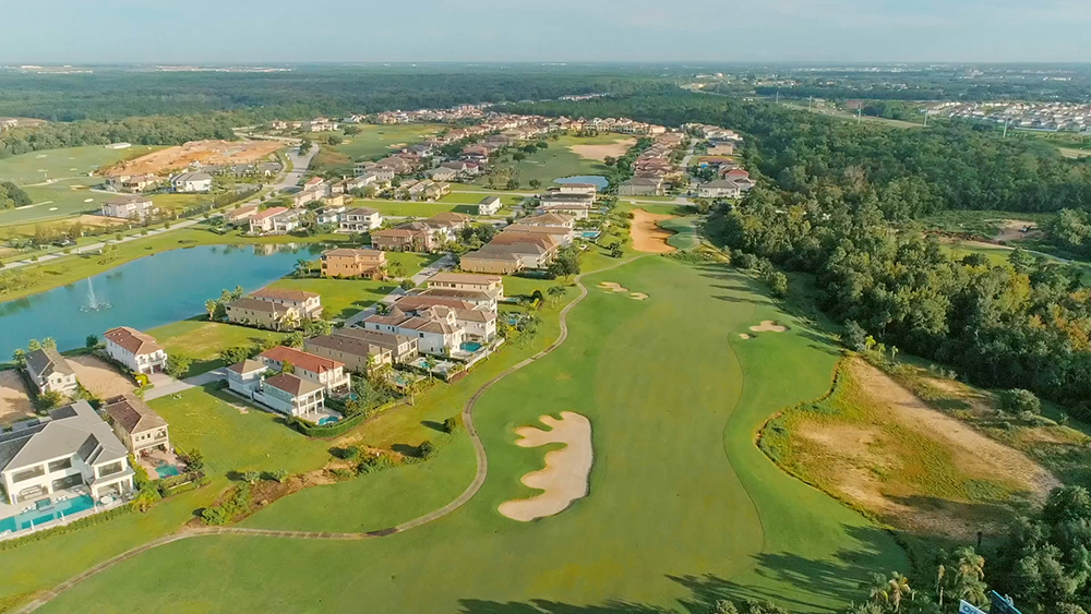 Villatel golfcourse reunion2
